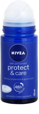 Nivea Protect & Care Antitranspirant-Deoroller für Damen 1