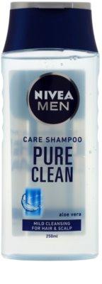 Nivea Men Pure Clean champô para cabelo normal