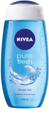 Nivea Pure Fresh tusfürdő gél