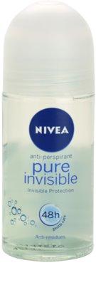 Nivea Pure Invisible antitranspirante roll-on