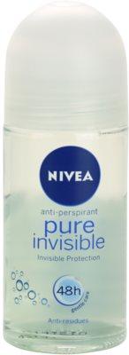Nivea Pure Invisible roll-on antibacteriano