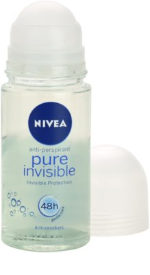 Nivea Pure Invisible Antitranspirant-Deoroller 1