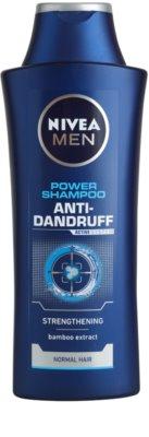 Nivea Men Power шампунь проти лупи для нормального волосся