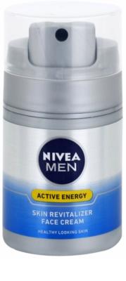 Nivea Men Revitalising Q10 крем за лице  за суха кожа