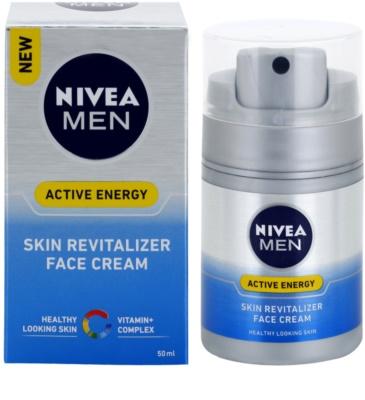 Nivea Men Revitalising Q10 krema za obraz za suho kožo 1