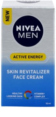 Nivea Men Revitalising Q10 крем за лице  за суха кожа 2