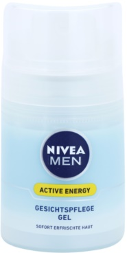 Nivea Men Active Energy gel facial refrescante