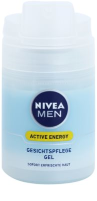 Nivea Men Active Energy gel facial refrescante 1