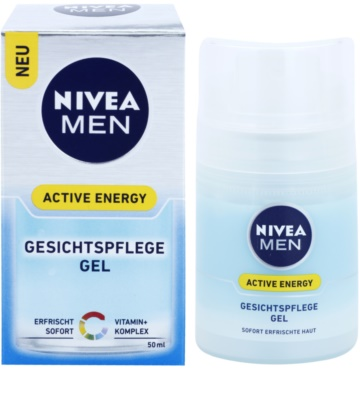 Nivea Men Active Energy gel facial refrescante 2
