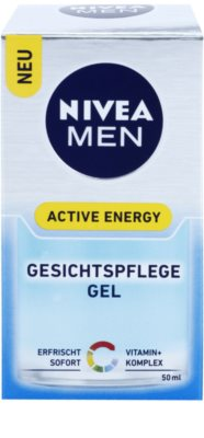 Nivea Men Active Energy gel facial refrescante 3