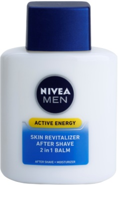 Nivea Men Active Energy revitalizacijski balzam za po britju 2v1