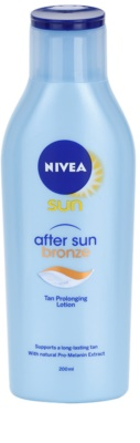 Nivea Sun After Sun & Bronze leite after sun para prolongar o bronzeado