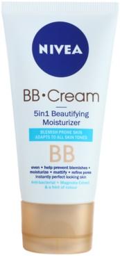 Nivea Skin Care BB creme  para pele problemática