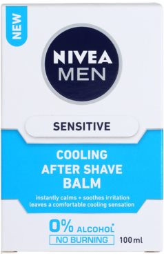 Nivea Men Sensitive After Shave Balsam für empfindliche Haut 3