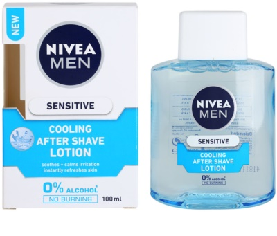 Nivea Men Sensitive aftershave water pentru piele sensibila 1