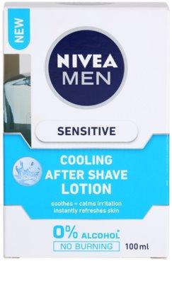 Nivea Men Sensitive aftershave water pentru piele sensibila 3