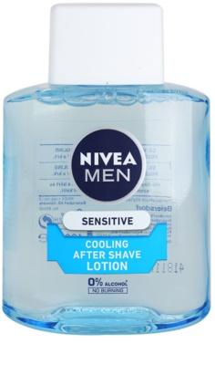 Nivea Men Sensitive loción after shave para pieles sensibles