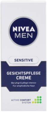 Nivea Men Sensitive pomirjujoča krema za občutljivo kožo 2