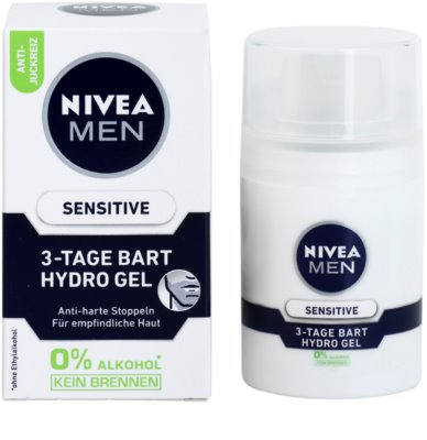 Nivea Men Sensitive arcgél uraknak 2