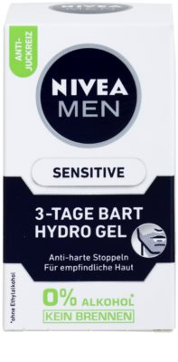 Nivea Men Sensitive arcgél uraknak 3