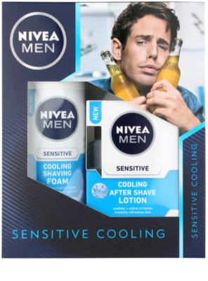 Nivea Men Sensitive lote cosmético II.
