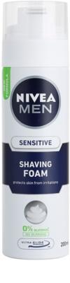 Nivea Men Sensitive spuma pentru barbierit
