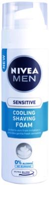Nivea Men Sensitive espuma de barbear com efeito resfrescante