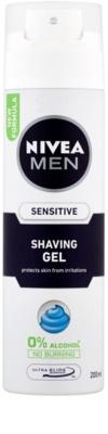 Nivea Men Sensitive gel de afeitar