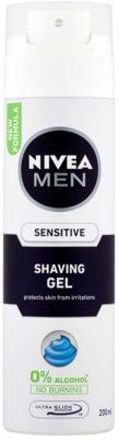 Nivea Men Sensitive gel na holení