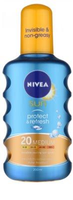 Nivea Sun Protect & Refresh охолоджуючий  спрей для засмаги