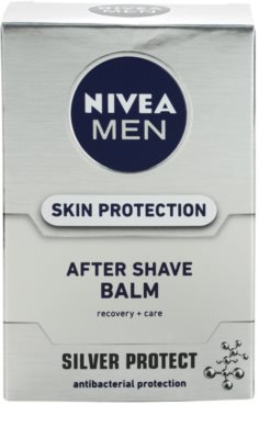 Nivea Men Silver Protect bálsamo after shave 2