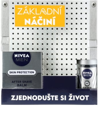 Nivea Men Silver Protect козметичен пакет  III. 1