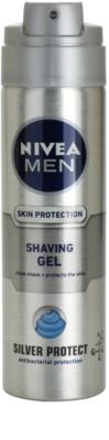 Nivea Men Silver Protect gel de afeitar 1