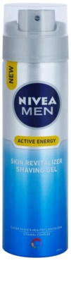Nivea Men Skin Energy gel de barbear