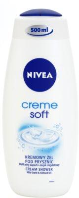 Nivea Soft krémes tusoló gél