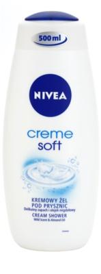 Nivea Soft krémový sprchový gel