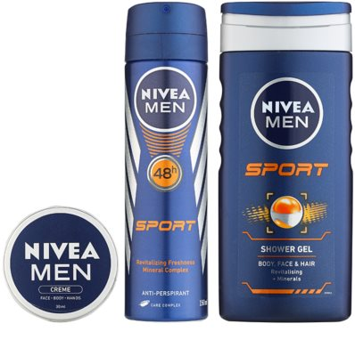 Nivea Men Sport zestaw kosmetyków II. 1