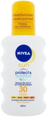 Nivea Sun Pure & Sensitive Sonnenspray SPF 30
