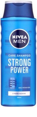 Nivea Men Strong Power champú para cabello normal