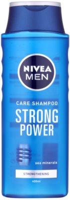 Nivea Men Strong Power шампоан  за нормална коса
