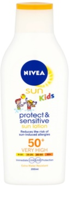 Nivea Sun Kids дитяче молочко для засмаги SPF 50+