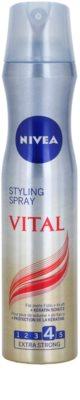 Nivea Vital лак за коса с екстра силна фиксация