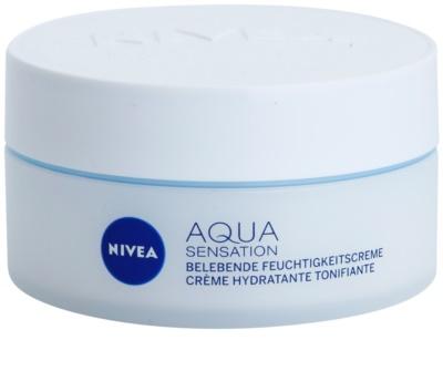 Nivea Visage Aqua Sensation crema de día hidratante  para pieles normales y mixtas