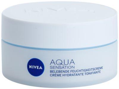 Nivea Visage Aqua Sensation creme de dia hidratante para pele normal a mista