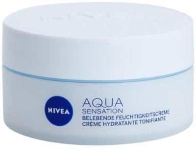 Nivea Visage Aqua Sensation hydratační denní krém pro normální až smíšenou pleť