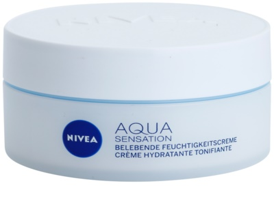 Nivea Visage Aqua Sensation vlažilna dnevna krema za normalno do mešano kožo