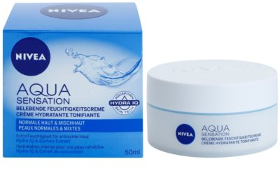 Nivea Visage Aqua Sensation krem nawilżający na dzień do cery normalnej i mieszanej 1