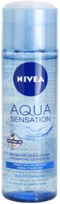 Nivea Visage Aqua Sensation čisticí gel pro normální až smíšenou pleť