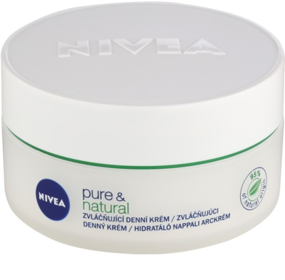Nivea Visage Pure & Natural vlažilna dnevna krema za normalno do mešano kožo