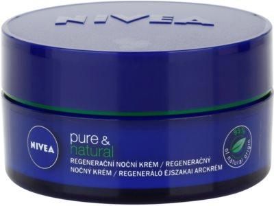 Nivea Visage Pure & Natural regeneráló éjszakai krém minden bőrtípusra